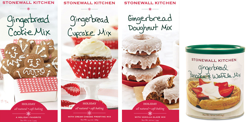 Gingerbread Pancake and Waffle or Gingerbread Doughnut Mix is sure to ...