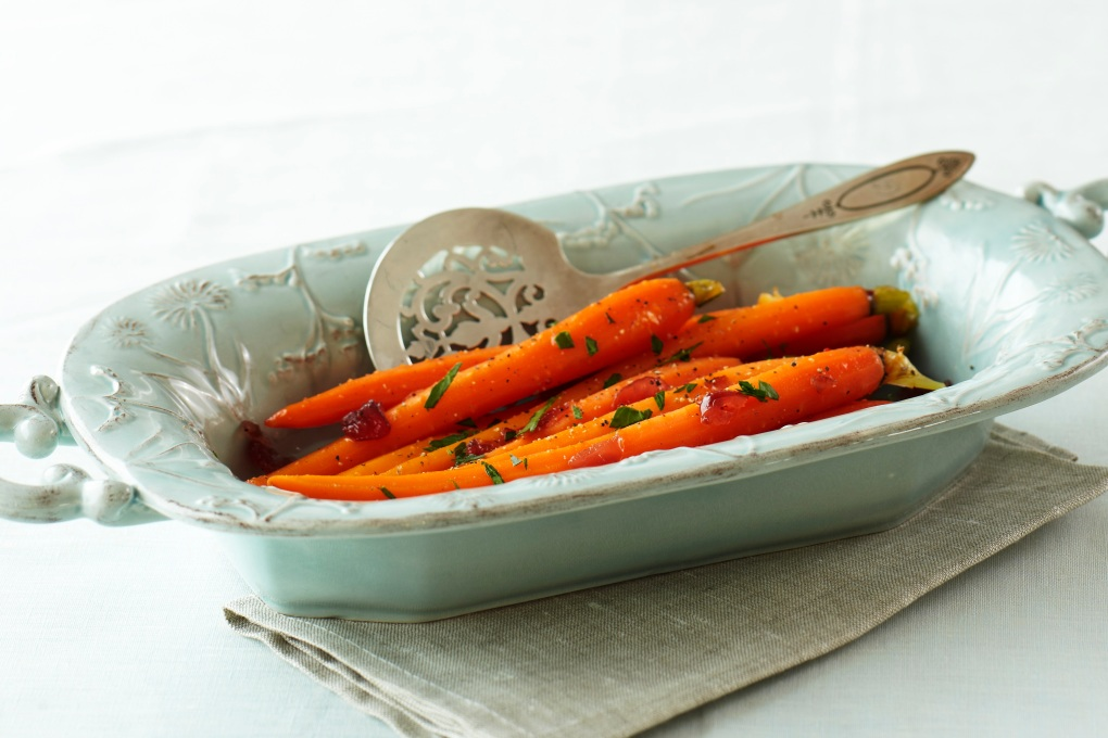 Candied Baby Carrots w-Orange Cranberry Marmalade recipe card_G