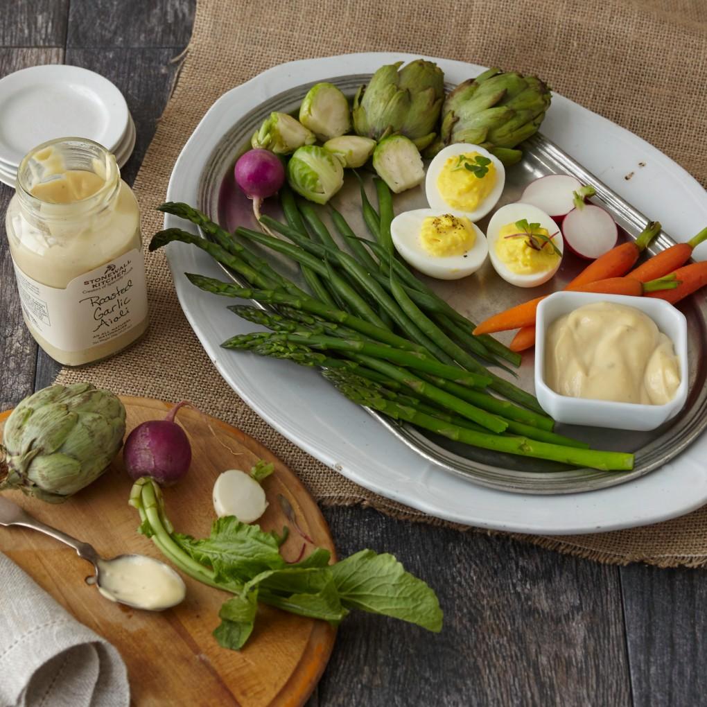 Aiolis and Veggies