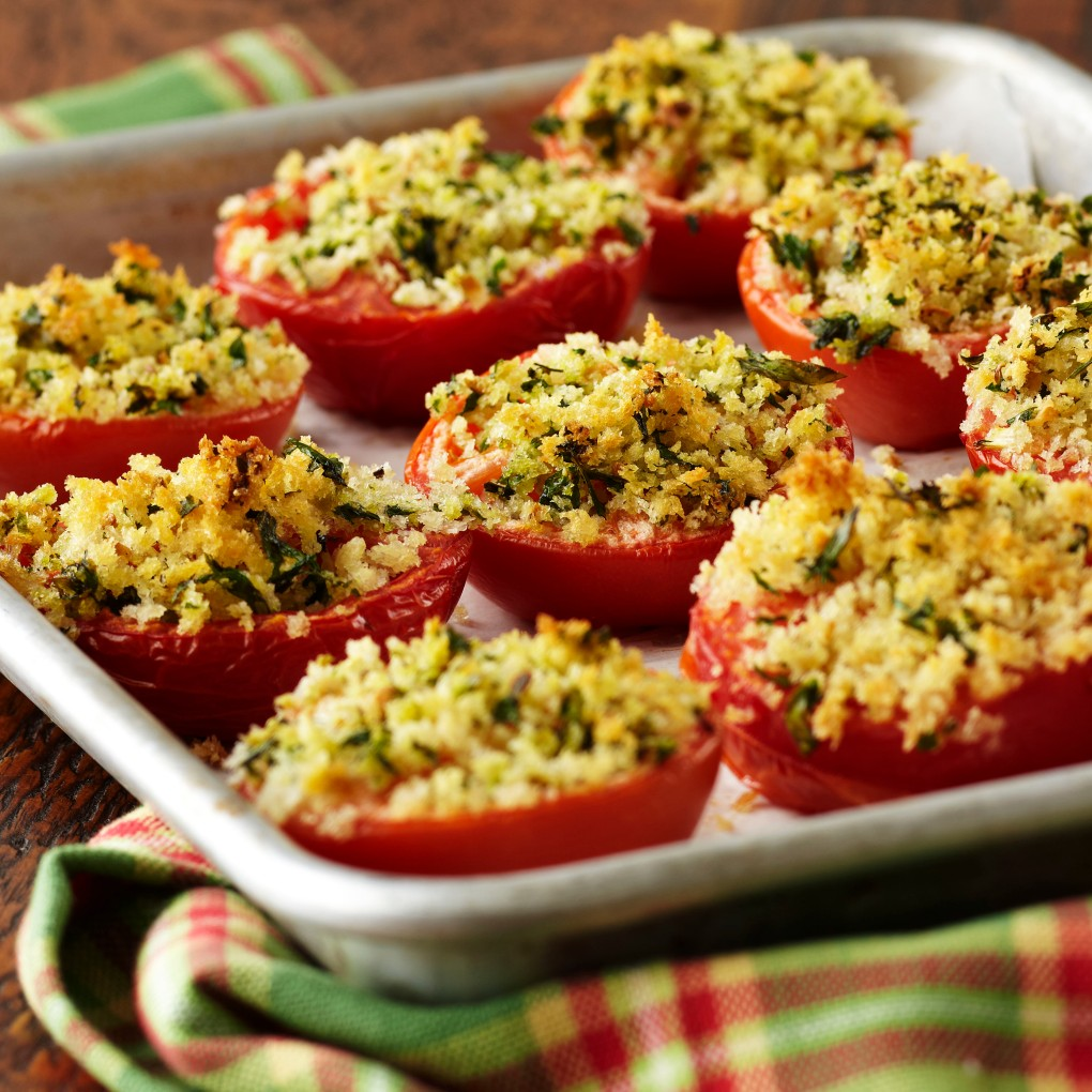 Oven Roasted Tomatoes w-Sweet Basil Oil recipe_G