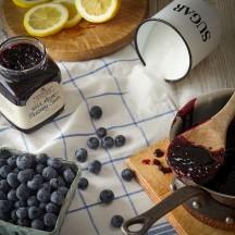 Wild Maine Blueberry Jam Ingredients