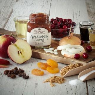 Apple Cranberry Chutney Ingredients