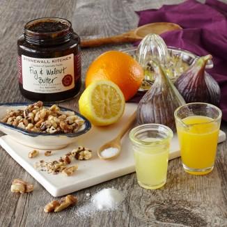 Fig & Walnut Butter Ingredients