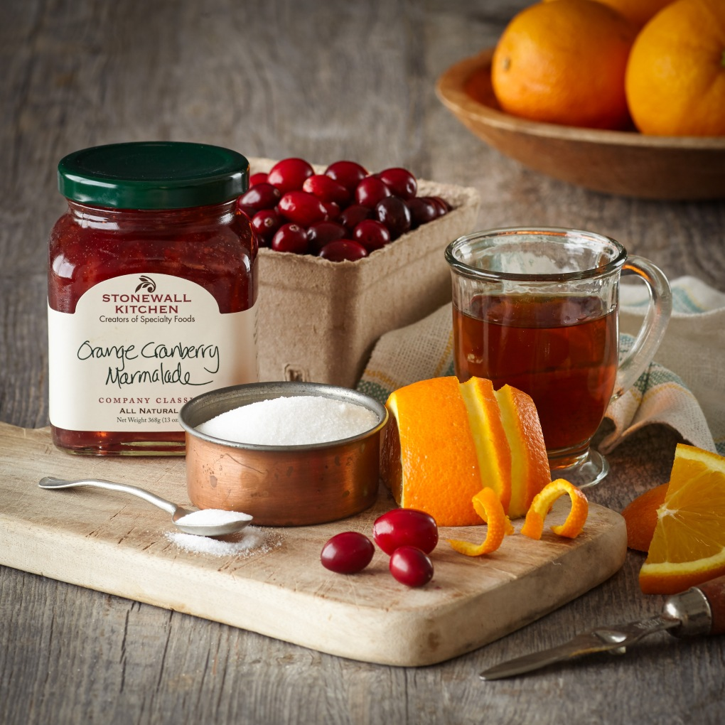 Orange Cranberry Marmalade Ingredients