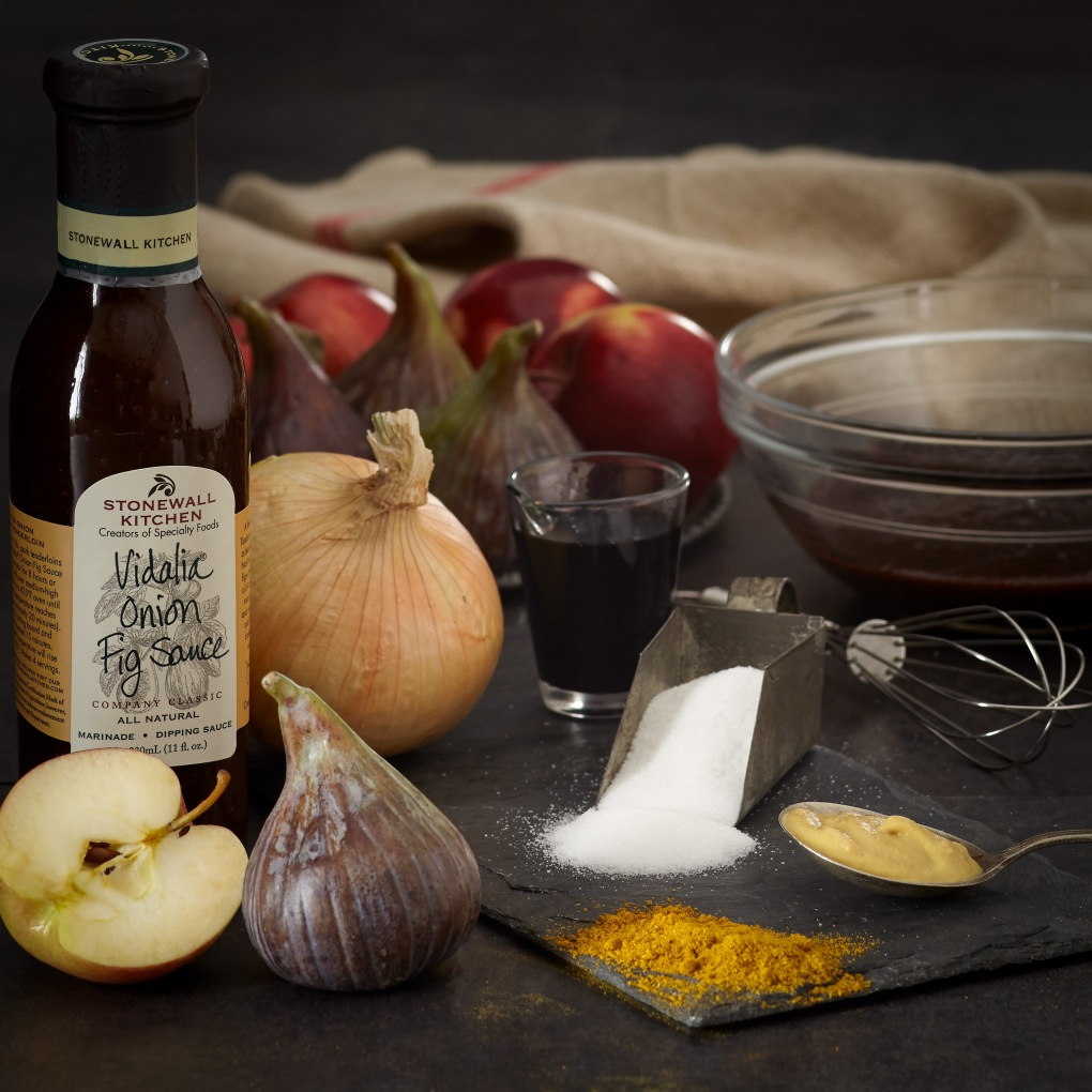 Vidalia Onion Fig Sauce Ingredients