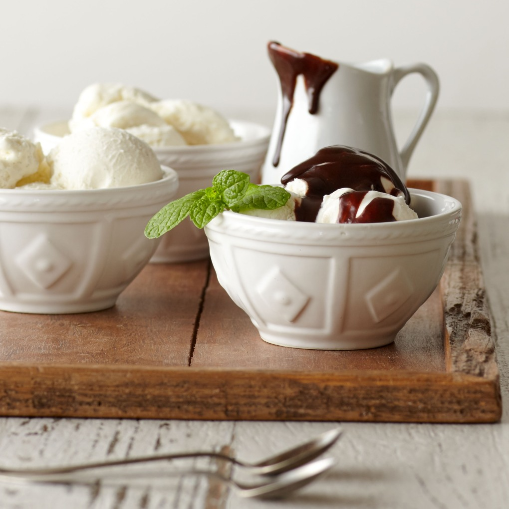 Ice Cream and Dessert Topping