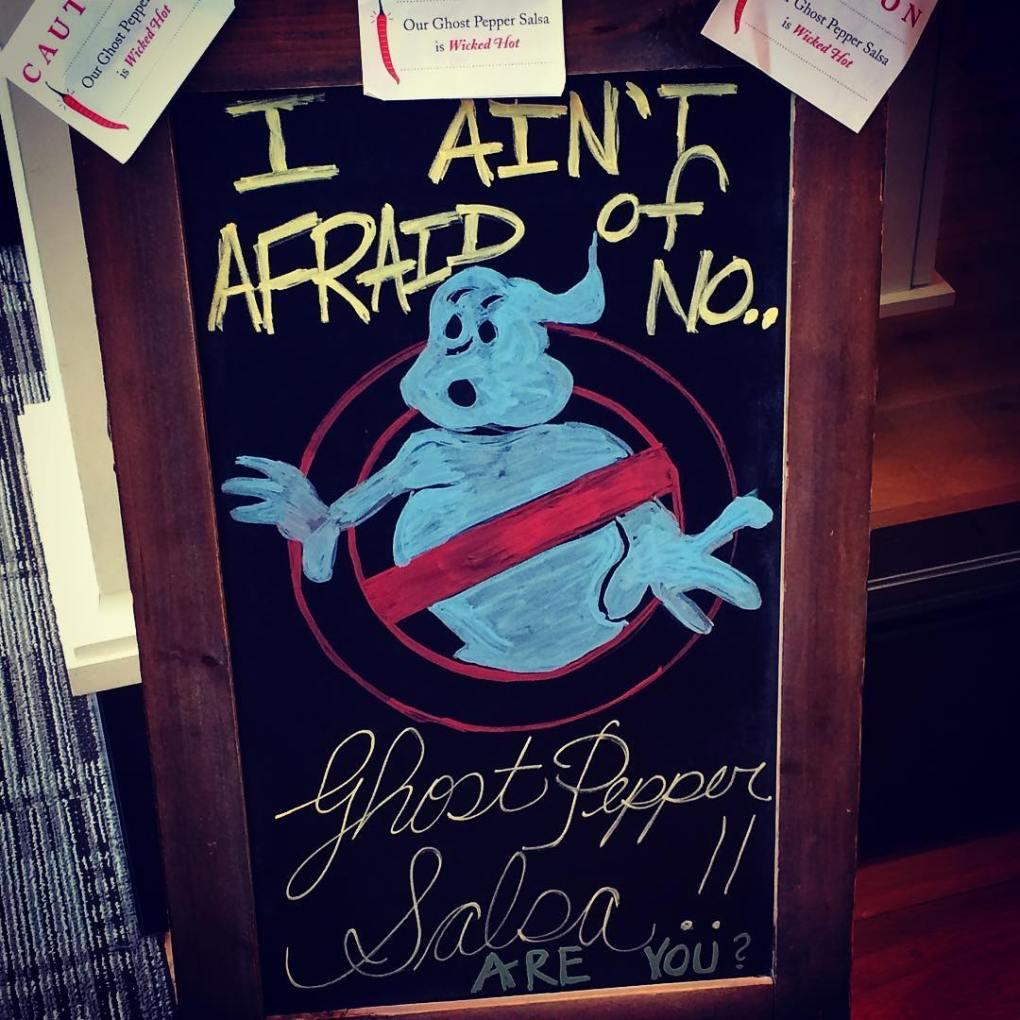 Ghost Pepper Salsa b @tanukiduck