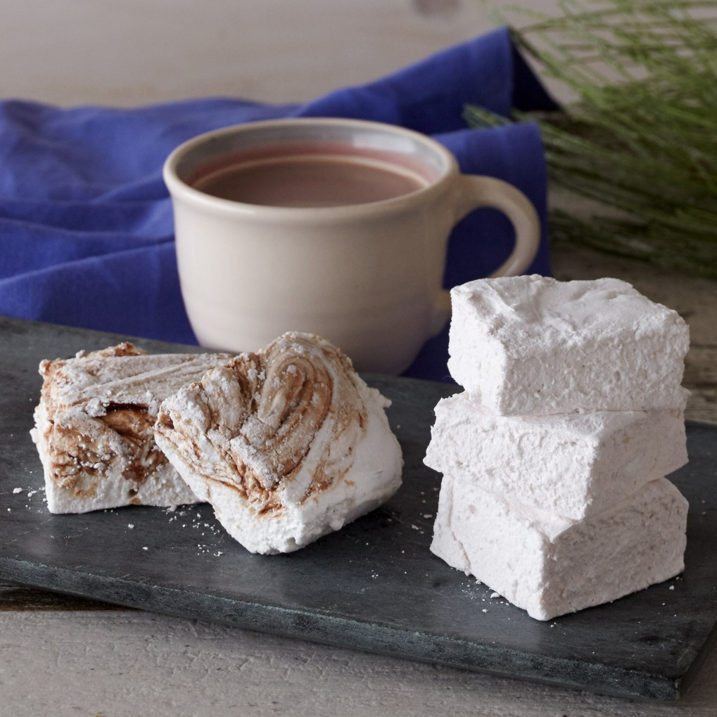 homemade-flavored-marshmallows